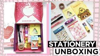 zenpop stationery unboxing || studyng