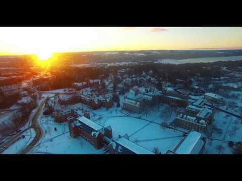 Living at Cornell University - Freshmen Dorm Life - 4k