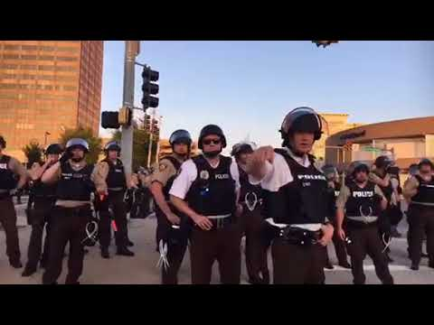 Militarized police take over St. Louis suburb