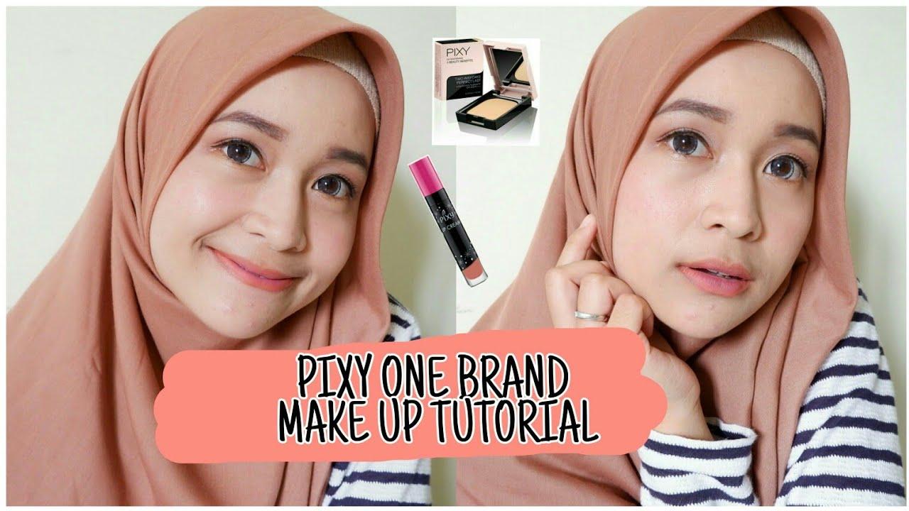 Make Up Natural Untuk Pemula Simpel Banget Pixy One Brand Make Up Tutorial Youtube