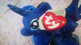 Ty Sparkle My little pony Princess Luna