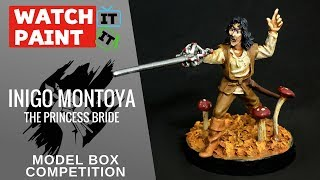 Model Box - Painting Inigo Montoya - The Princess Bride - Tales Competition