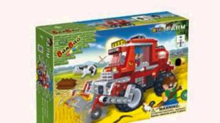 Ban Bao Wheat Harvester Toy Building Set, 228-piece