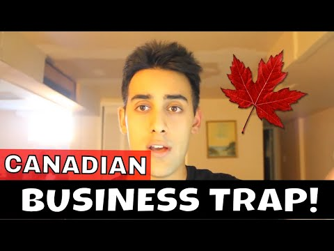 WATCH THIS BEFORE STARTING A BUSINESS IN CANADA (FOR IMMIGRANTS)