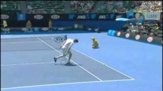 Tennis Between-the-legs shot 960x544 in Australia open.avi
