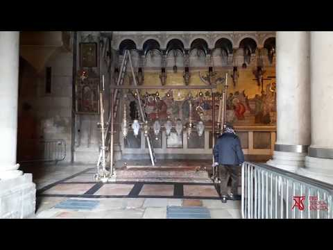 Il Santo Sepolcro come non l'avete mai visto