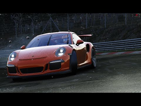Assetto Corsa: Nordschleife in the Rain! - Porsche 911 GT3RS  