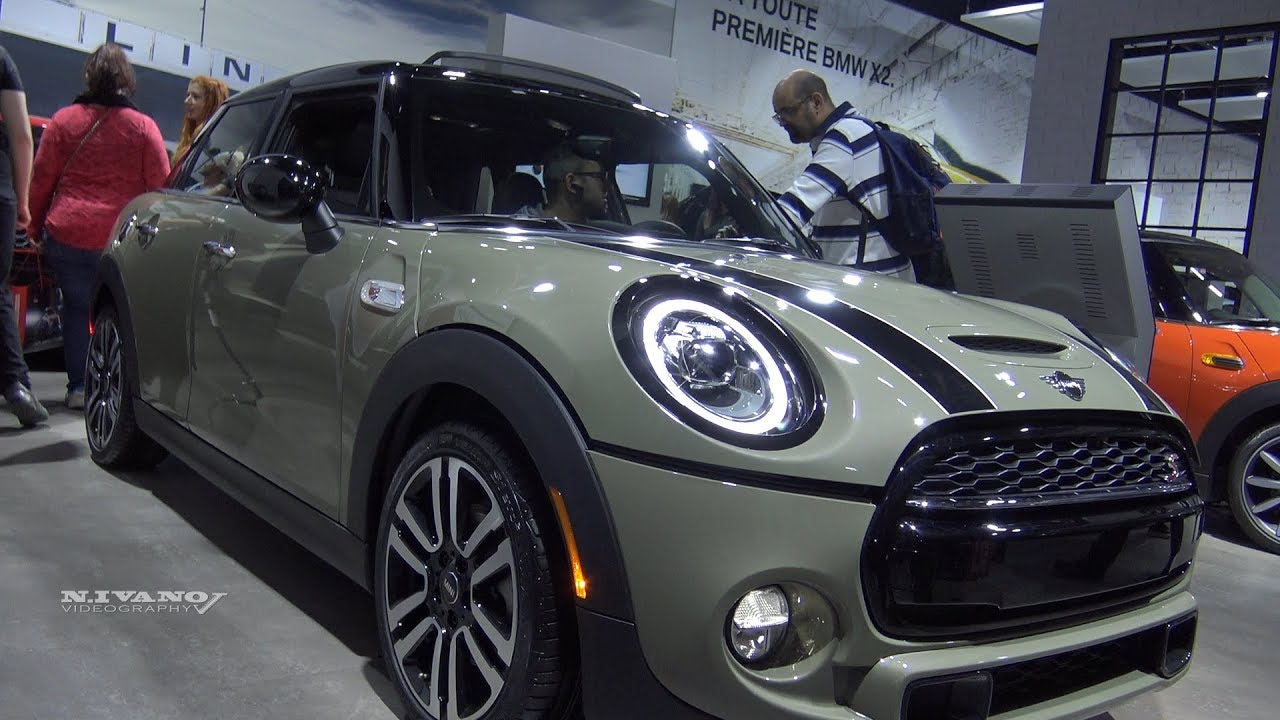2019 Mini Cooper S Exterior And Interior Walkaround 2018 Montreal Auto Show