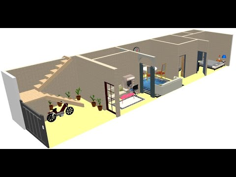15x60_2BHK plan_CAR PARKING_SITOUT_BETTER PRIVACY