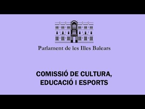 Comissió Cultura,Educació i Esports 15/6/2017