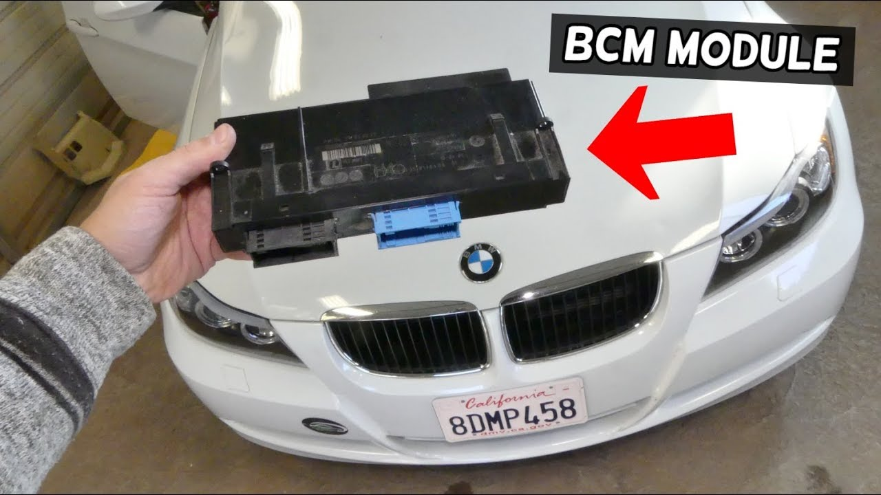 How To Remove And Replace Bcm Module Bmw E90 E92 E91 E93 Body Control Auto Repair Guys