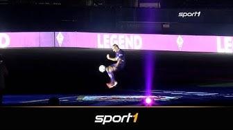 Mit Rauch und Lasershow - so wird Ribery in Florenz empfangen   SPORT1
