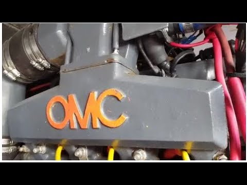 OMC Cobra Volvo Penta SX How To Drain Water From Block Petcock Removal