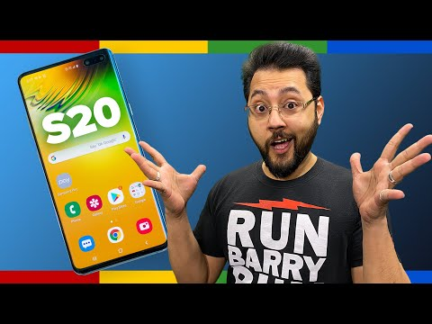 The Galaxy S20 costs how much?