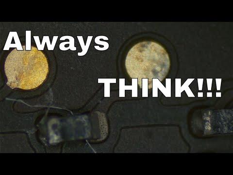 Electronics repair is detective work