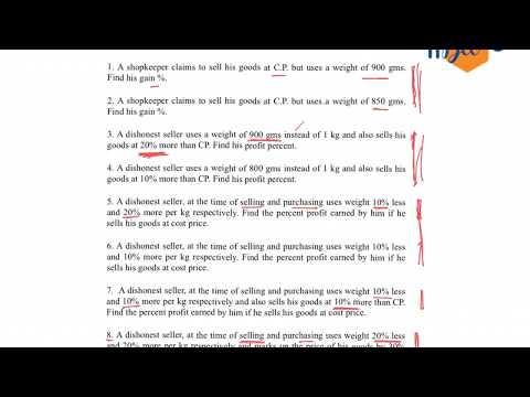 Profit & Loss - dishonest seller PART-1