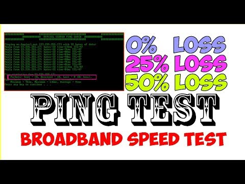 How To Run A Ping Test In Cmd For Broadband Speed Test