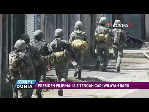 Presiden Filipina: ISIS Tengah Cari Wilayah Baru