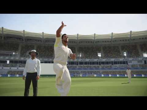 Ashes Cricket Australia vs Ireland test match part 1 aus bowling