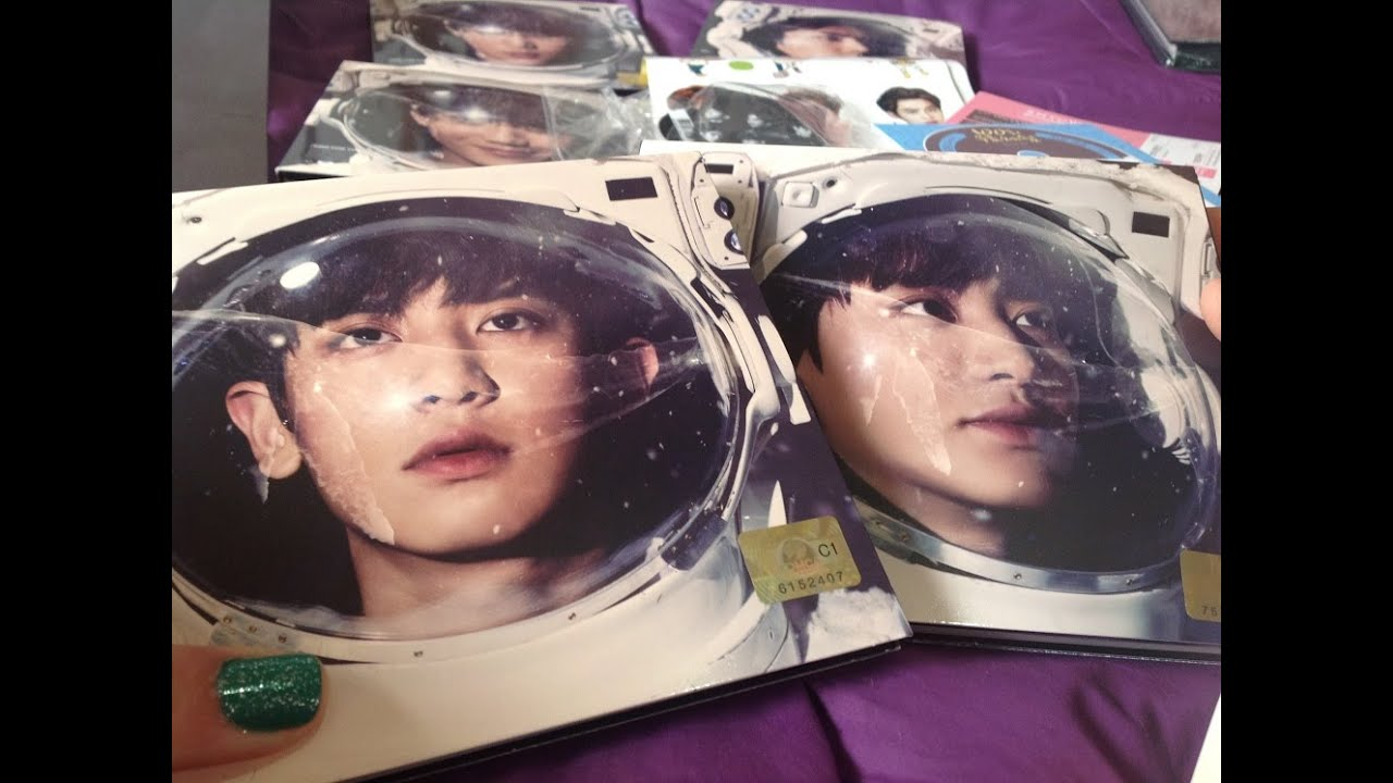 Unboxing EXO Sing For You CHANYEOL Korean Chinese Ver