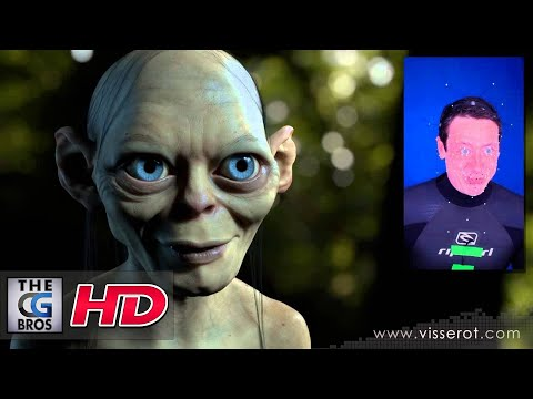 "CGI Facial Mocap Re-Targeting Demo : ""Gollum Project"" by Fabrice Visserot"