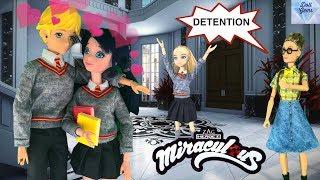 Marinette & Adrien School Morning Routine Miraculous Ladybug - Luka & Kagami Season 2 Doll