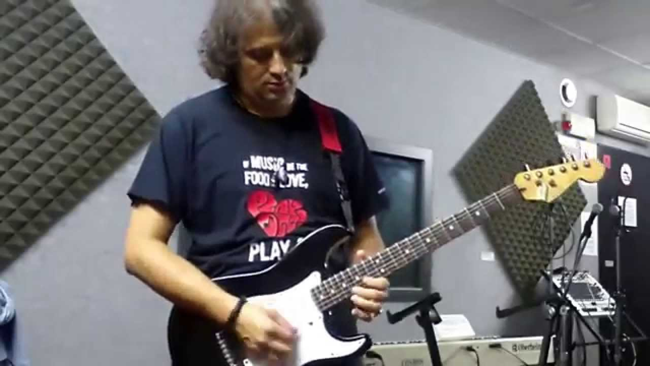 Robben Ford Quot The Champ Quot Played By Steve Angarthal Youtube