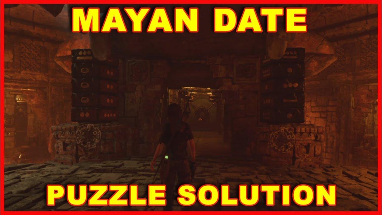 Skyrim Calendrier.Shadow Of The Tomb Raider Mayan Date Door Puzzle Guide Kuwaq Yaku