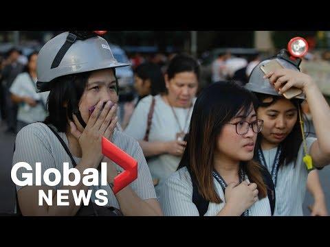 7.2 magnitude earthquake strikes off Philippines coast