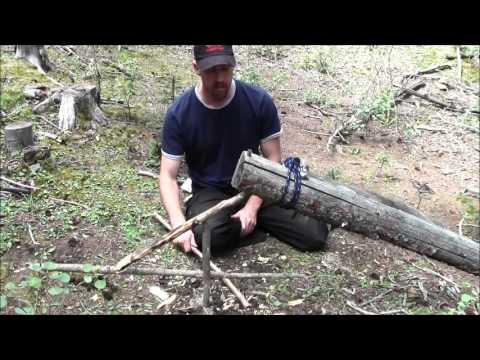 Colorado Mountain Man Survival Traps and Snares