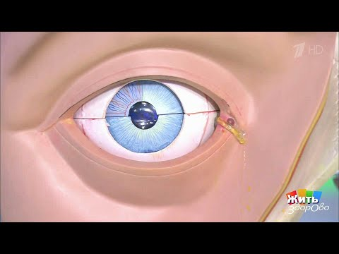 Давит глаз изнутри и болит