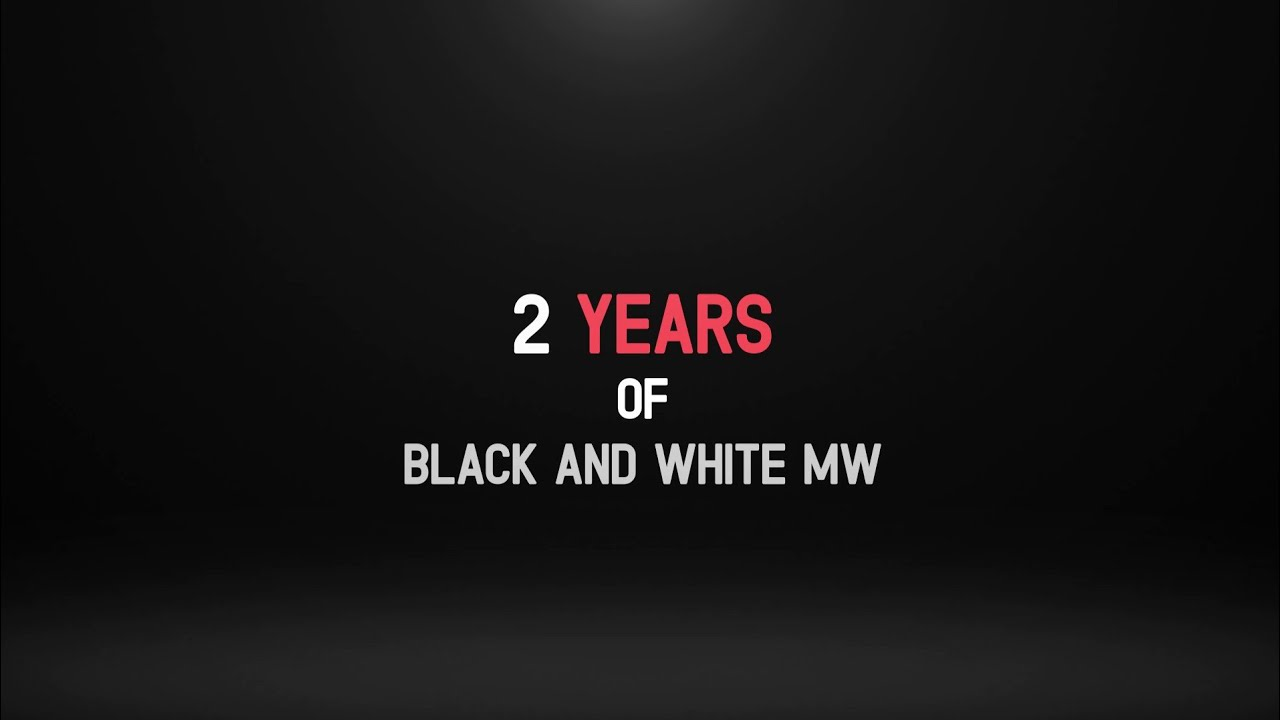 Two Years of Black and White Media Works