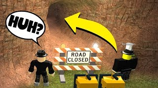 WE FOUND A NEW SECRET TUNNEL! (Roblox Jailbreak Roleplay)