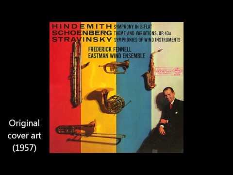 Stravinsky: Symphonies of Wind Instruments, by the Eastman Wind Ensemble (1957)