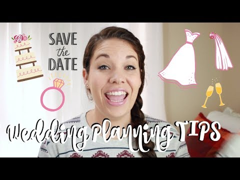 10 WEDDING PLANNING SURVIVAL TIPS !! | How To Plan A Wedding!