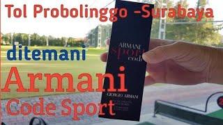 Gambar cover Armani Code Sport Review : Tol Probolinggo - Surabaya