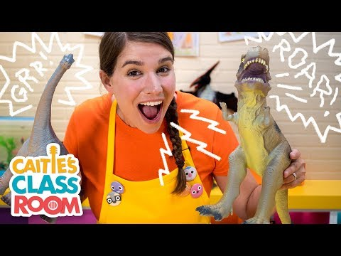 Caitie's Classroom Live - Dinosaurs!