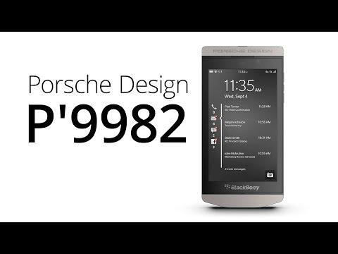 BlackBerry Porsche Design P'9982 (recenze)