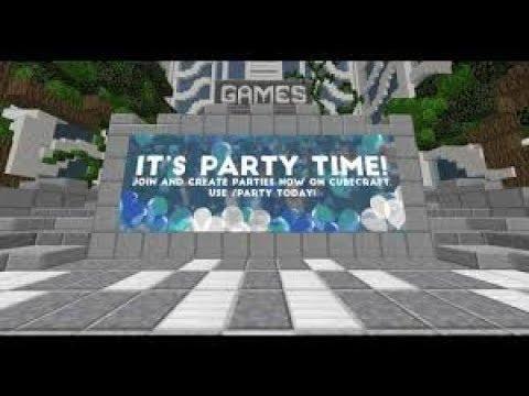 Minecraft CubeCraft Ta Nasıl Partty Atılır(SESLİ ANLATIM)