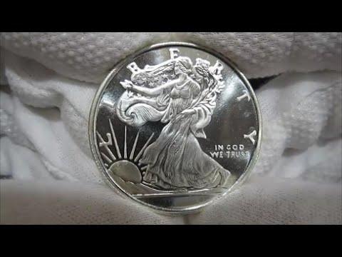 American Walking Liberty Silver Coin 1 Oz