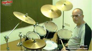 Pop-rock akademija - tečaj bubnjeva