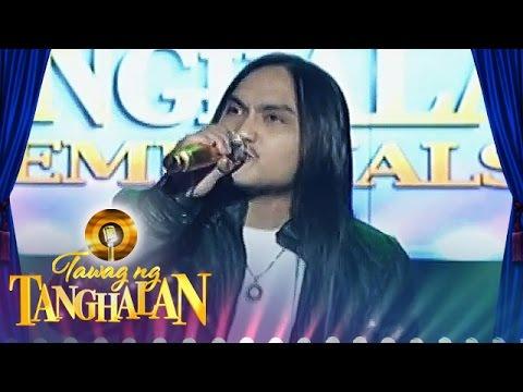 Tawag ng Tanghalan: Christofer Mendrez   Don't Stop Believin' (Round 1 Semifinals)
