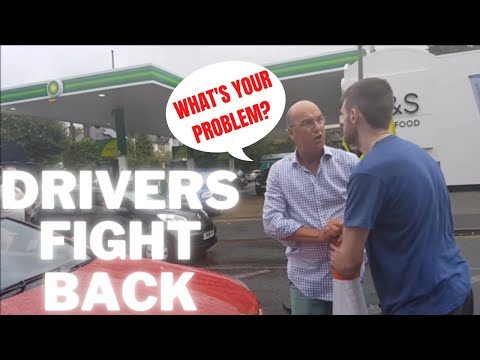 WHEN DRIVERS FIGHT BACK - RIDE LONDON