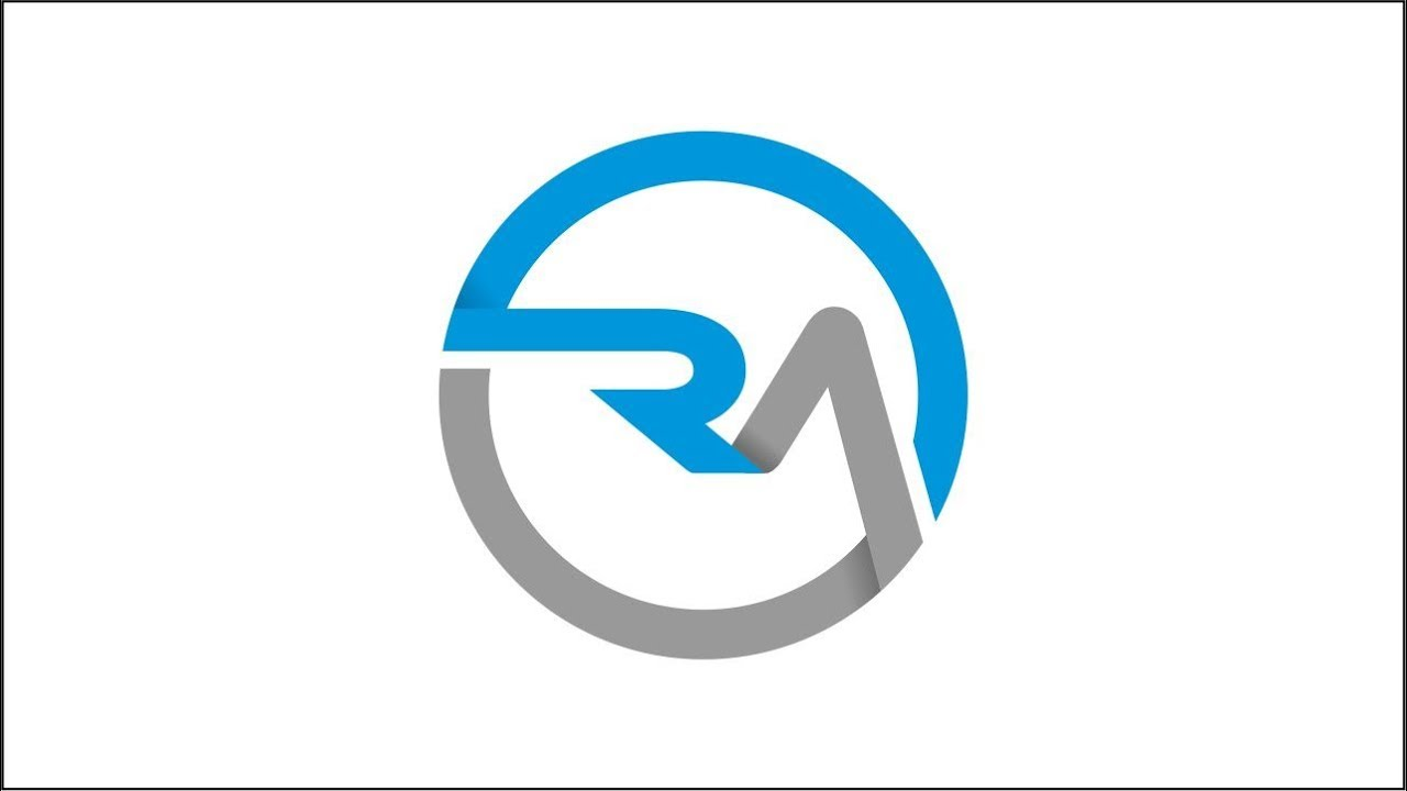 how to make rm logo lobaronart youtube how to make rm logo lobaronart