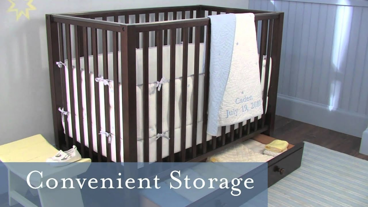 Caden Nursery Collection for Small Spaces | Pottery Barn Kids - YouTube