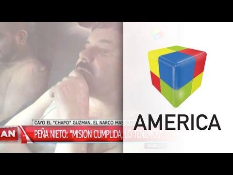 Recapturaron en México a Joaquín El Chapo Guzmán