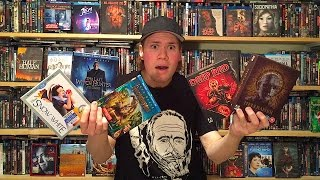 My Blu-ray Collection Update 1/23/16 : Blu ray and Dvd Movie Reviews
