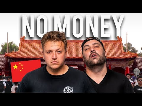 BEIJING CHINA WITH NO MONEY