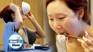 Hwasa swallows food with the speed of lightning [Home Alone Ep 354]