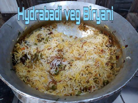 Hyderabadi Veg Biryani/Restaurant Style Veg Biryani